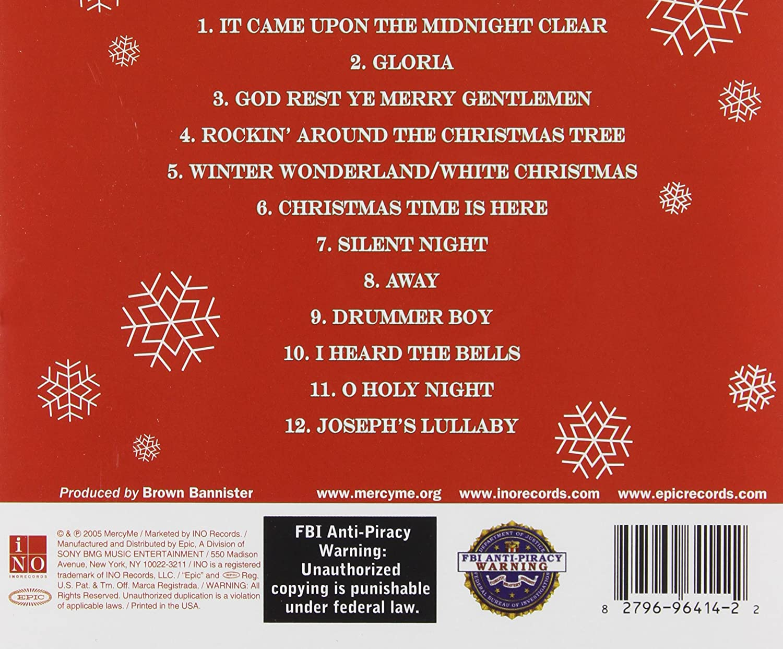 Mercyme, Mercy Me - The Christmas Sessions - Amazon.com Music