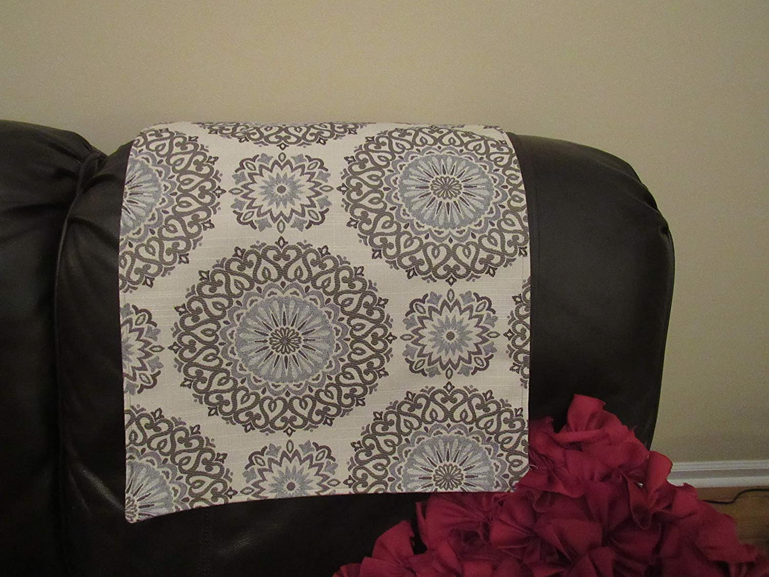 Headrest Cover, Recliners slipcover, sofas, loveseats, furniture protector 17x27 By Bittlemen Co.