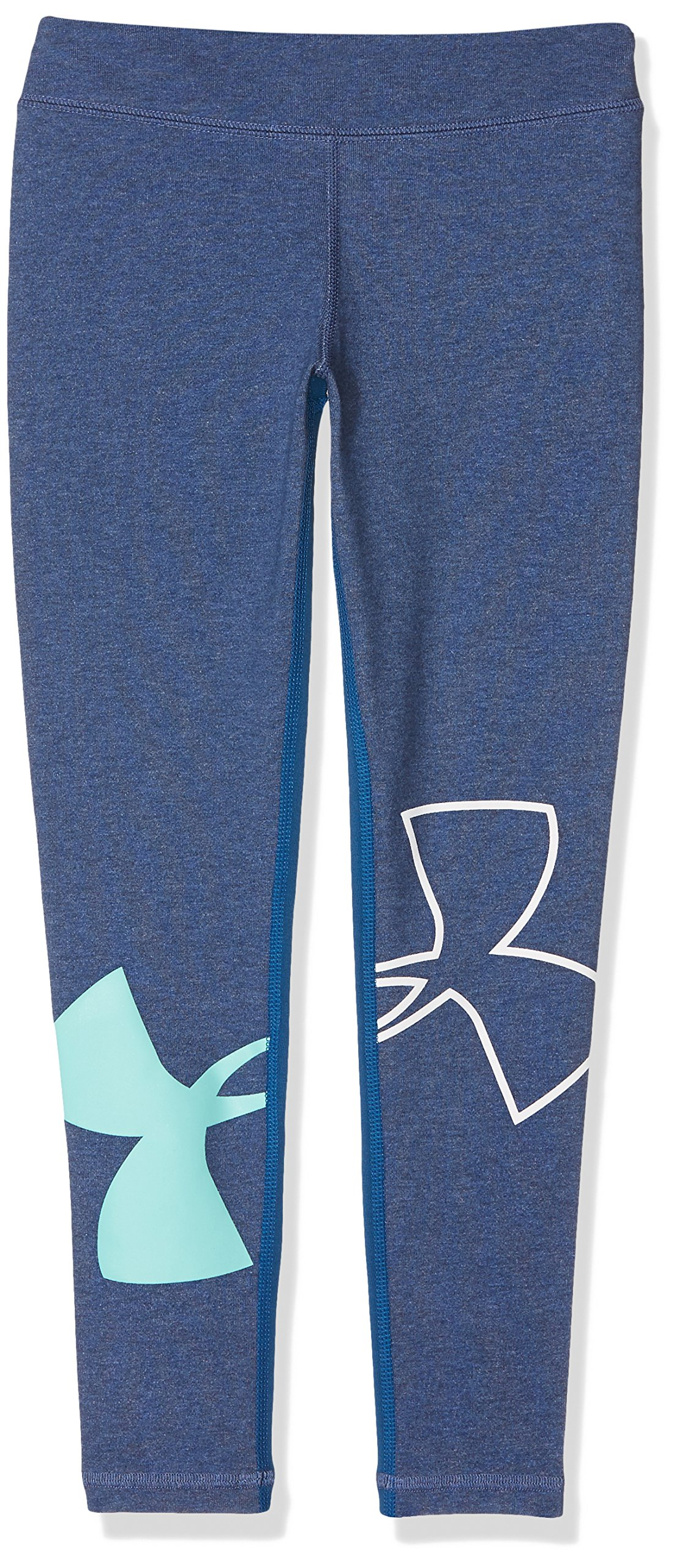 Under Armour Girls UA Favorite Knit, Blue/Tide/Mint, YXL by Under Armour