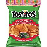 Tostitos Salsa Verde Flavored Tortilla Chips, 2.375 Ounce (16 Count)