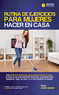 RUTINA DE EJERCICIOS PARA MUJERES HACER EN CASA: para amas de casa y personas que