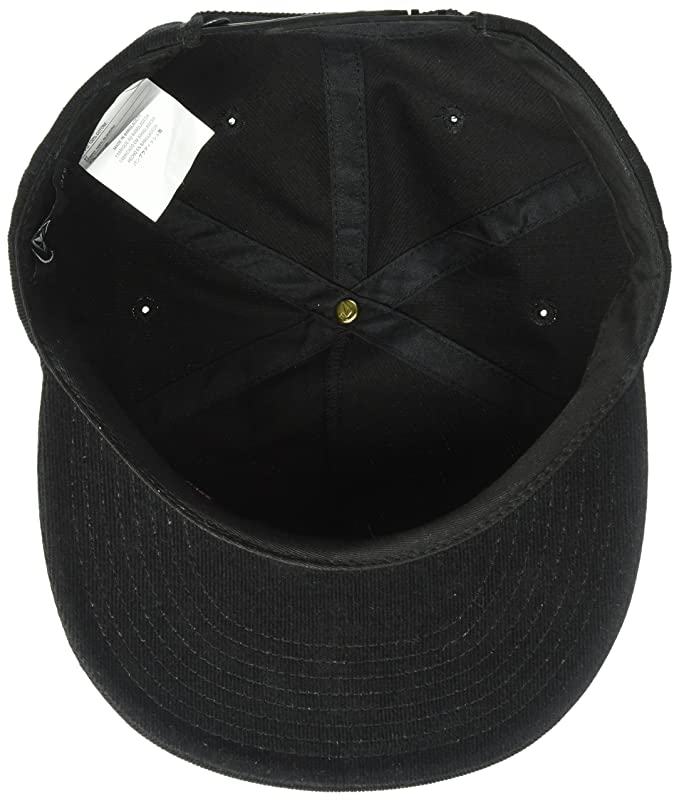 fadf2916050c5 ... czech amazon volcom mens stone bud five panel hat black one size  clothing c25eb fd740
