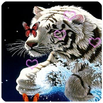 White Tiger Live Wallpaper HQ