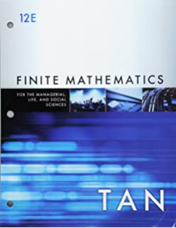 Life and Social Sciences Finite Mathematics for the Managerial