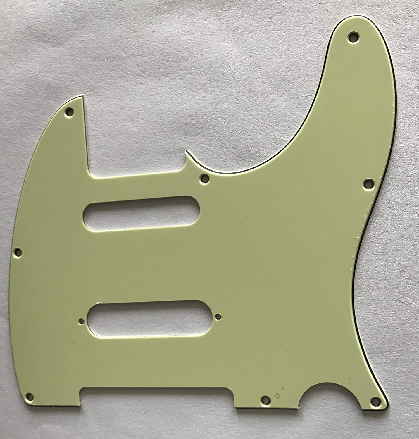 For Fender Telecaster Nashville Tele Guitar Pickguard 3 Ply Black