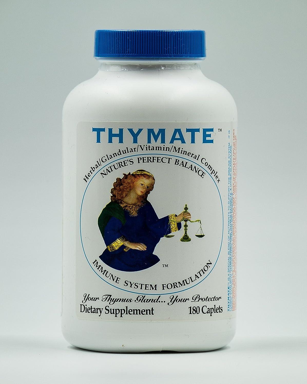 Thymate Herbal Glandular Vitamin Mineral Complex – 180 Capsules