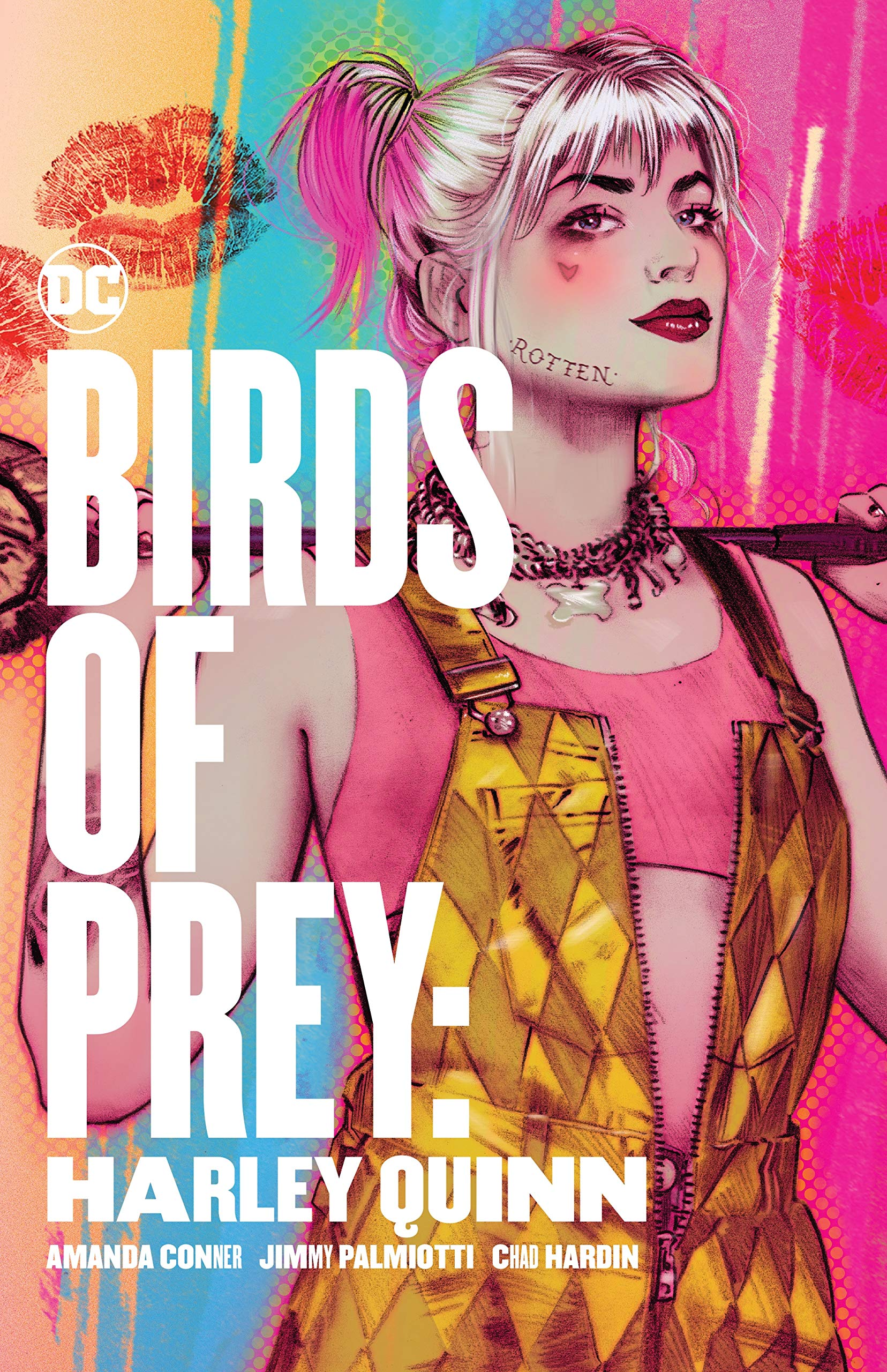 Amazon Com Birds Of Prey Harley Quinn 9781401298920 Conner Amanda Palmiotti Jimmy Books