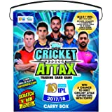 Topps Cricket Attax IPL CA 2017 50's Carry box, Multi Color