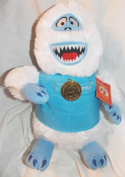 """New 2014 BUMBLE Abominable Snowman Rudolph 12/"""" Plush Stuffed 50th Anniversary"""