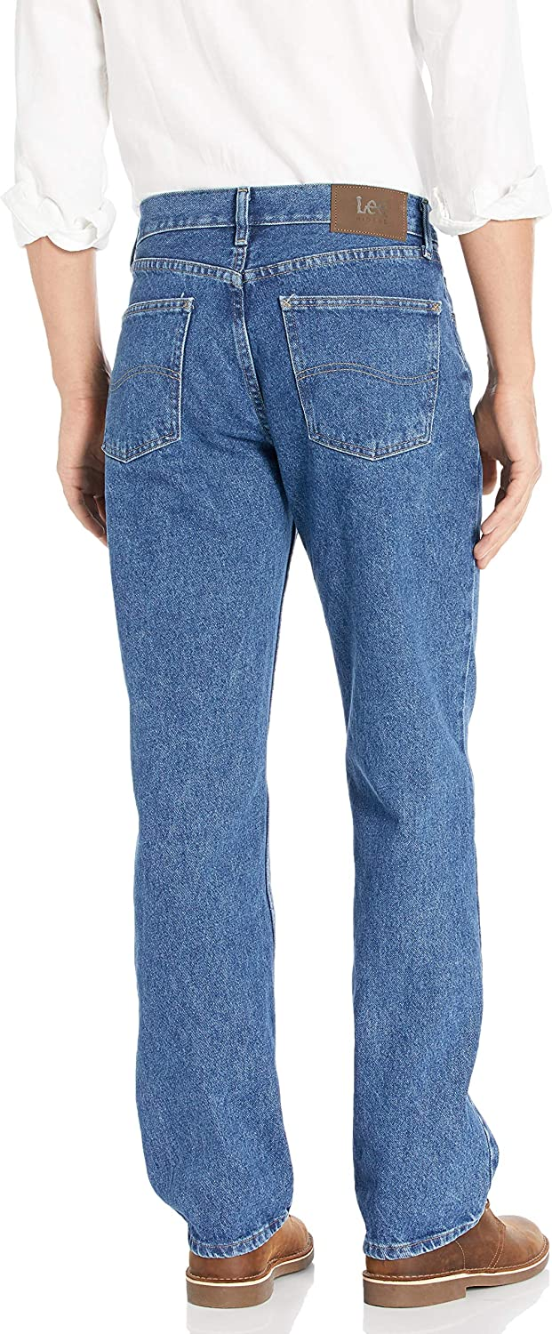 Lee Riders Indigo Mens Big /& Tall Relaxed Fit Jean