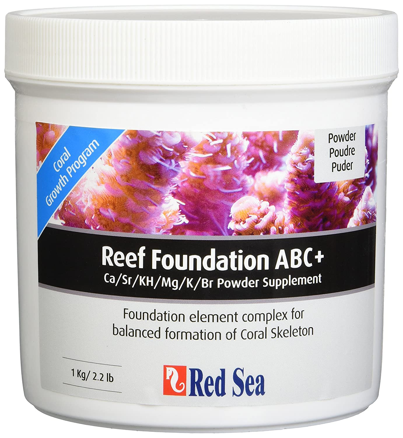 Red Sea Fish Pharm ARE22007 Reef Foundation Salt Water Conditioners for Aquarium 1kg