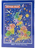 British Isles Map Jigsaw Puzzle by James Hamilton Grovely