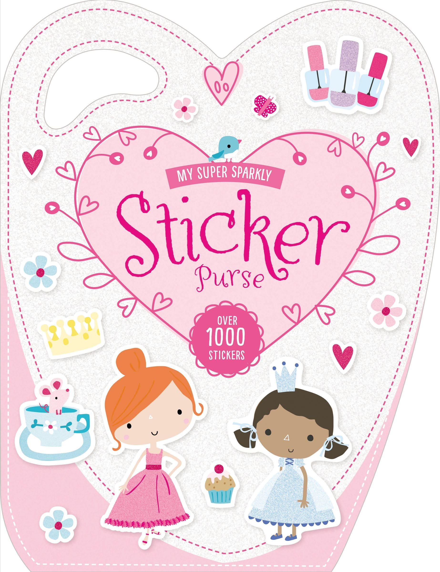 bdfdc594fd3a My Super Sparkly Sticker Purse Paperback – February 27, 2016. by Make  Believe Ideas ...