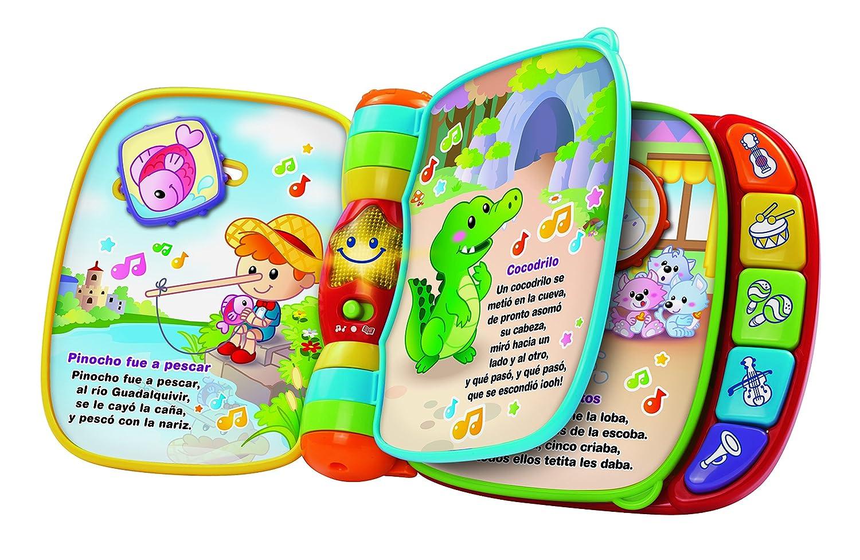 VTech Primeras Canciones, Libro Musical, Multicolor (3480-166722 ...