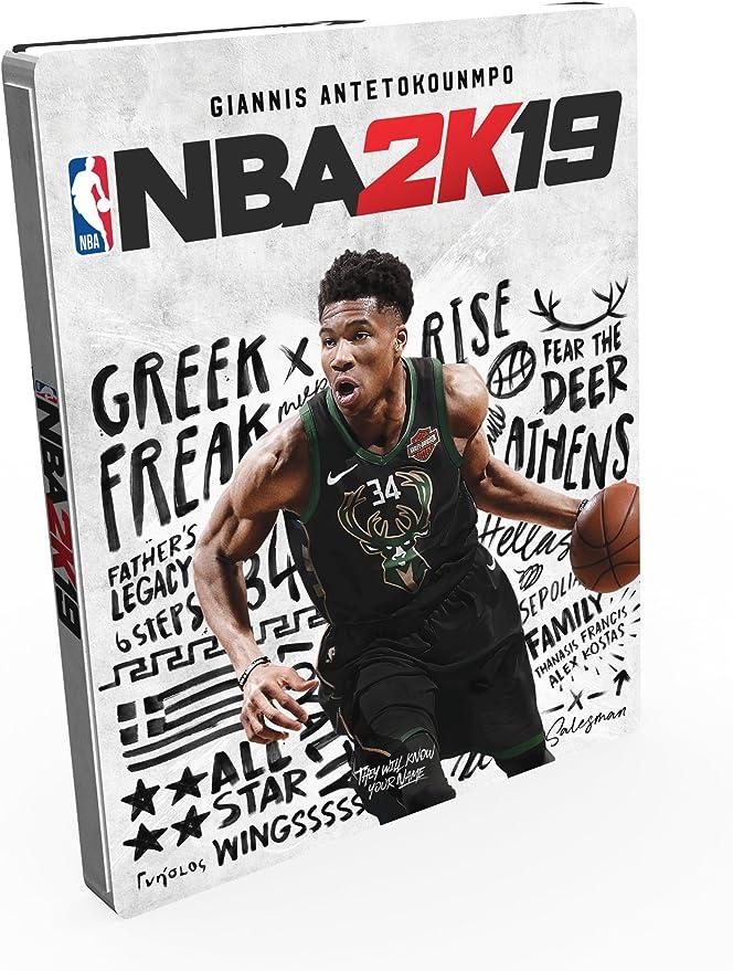 NBA 2K19 Steelbook Edition - Day-one Limited - PlayStation 4 [Importación italiana]: Amazon.es: Videojuegos