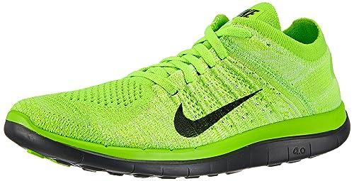 half off 4094a 2dc6a ... real nike free 4.0 flyknit zapatillas de running para mujer verde grün  electric 4e57e 7bba5