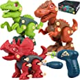 Bottleboom Dinosaur Toys, Take Apart Toys with Electric Drill,STEM Building Learning Set Toy for Kids 3 4 5 6 7 Years Old Boy