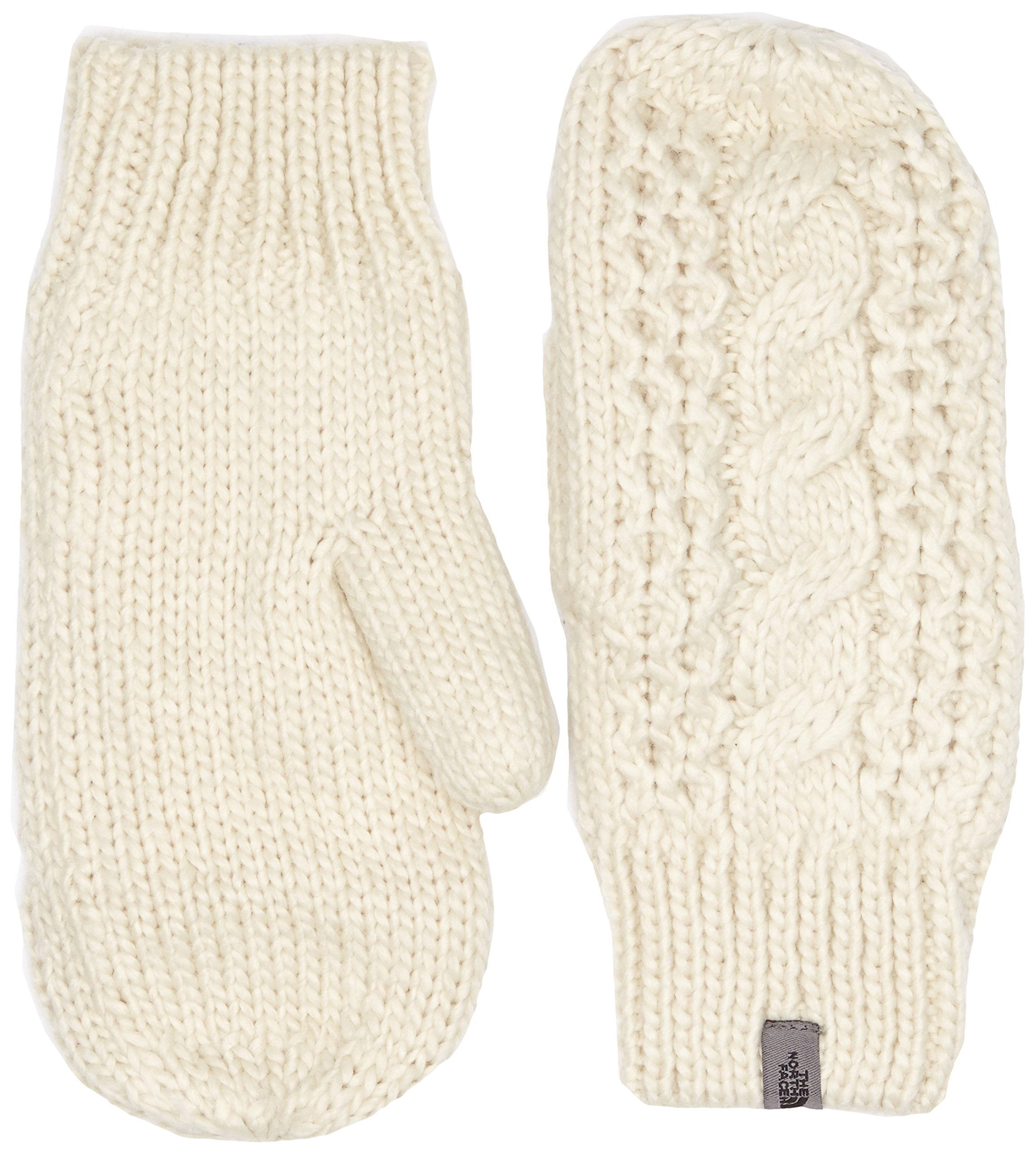 The North Face Women's Cable Knit Mitt Vintage White