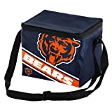 Chicago Bears Big Logo Stripe 6 Pack Cooler