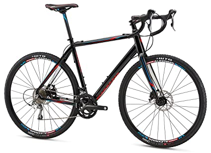 151318fca56 Amazon.com : Mongoose Selous Comp Gravel Road Bike with 700cm Wheel ...