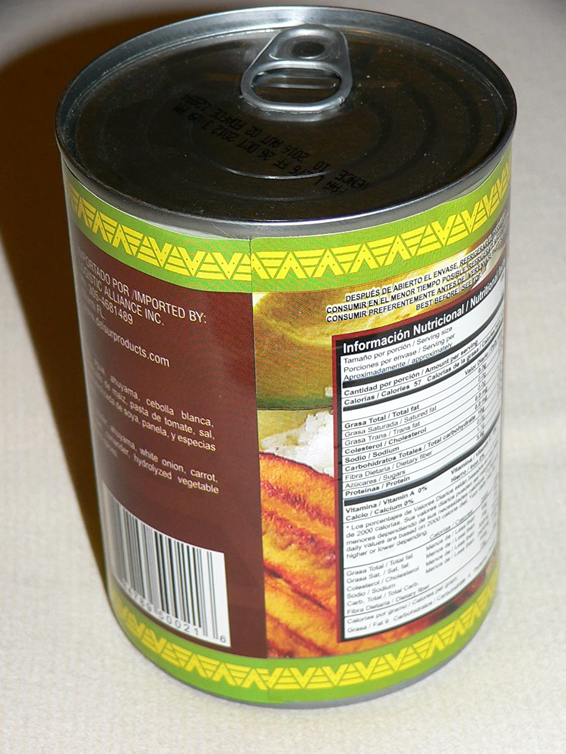 Amazon.com : Red Beans Frijoles Antioqueños Cargamanto Del Sur (7 1/2 Pounds) : Canned Beans : Grocery & Gourmet Food