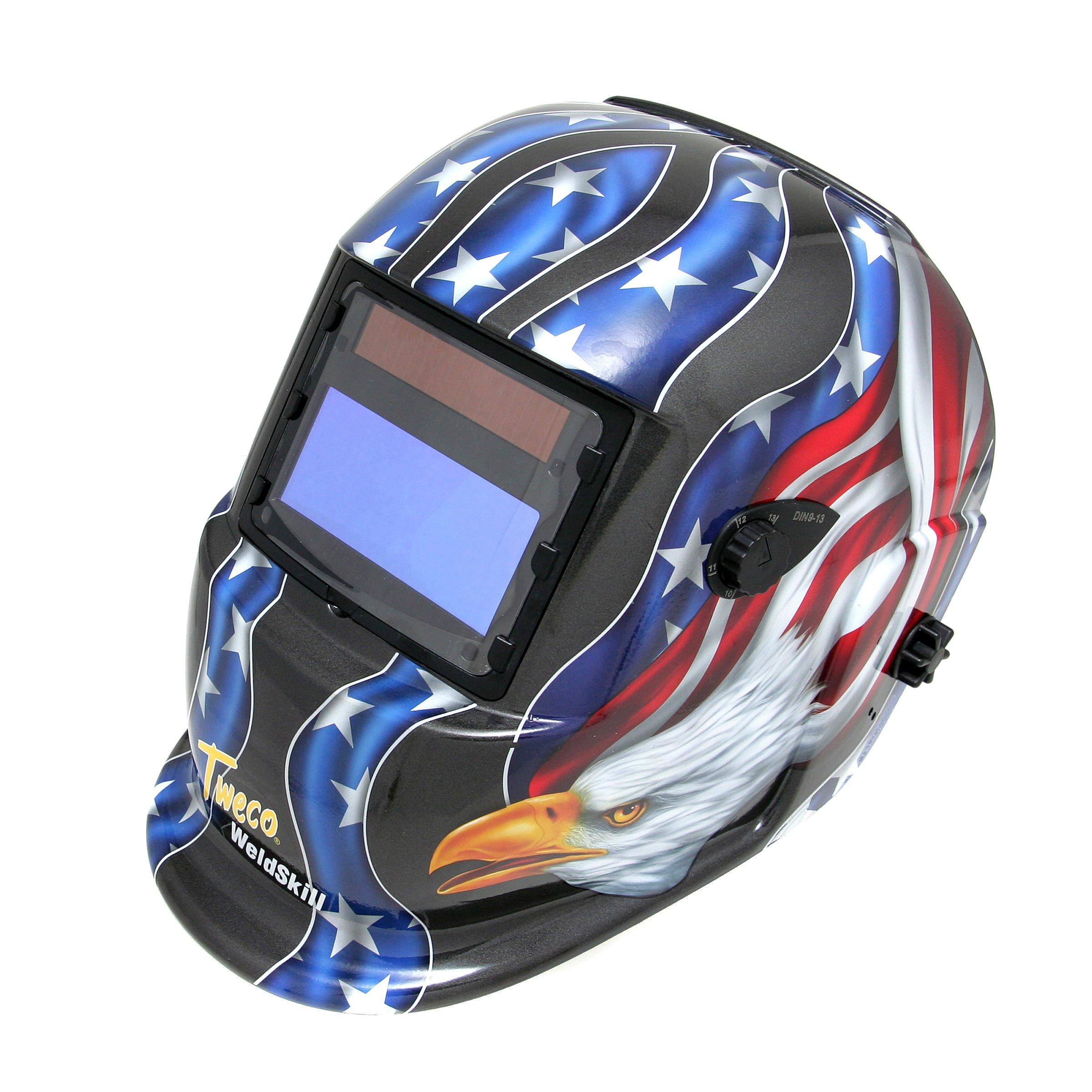 Thermadyne Tweco 41001002 Tweco WeldSkill Auto-Darkening Helmet USA by Thermadyne