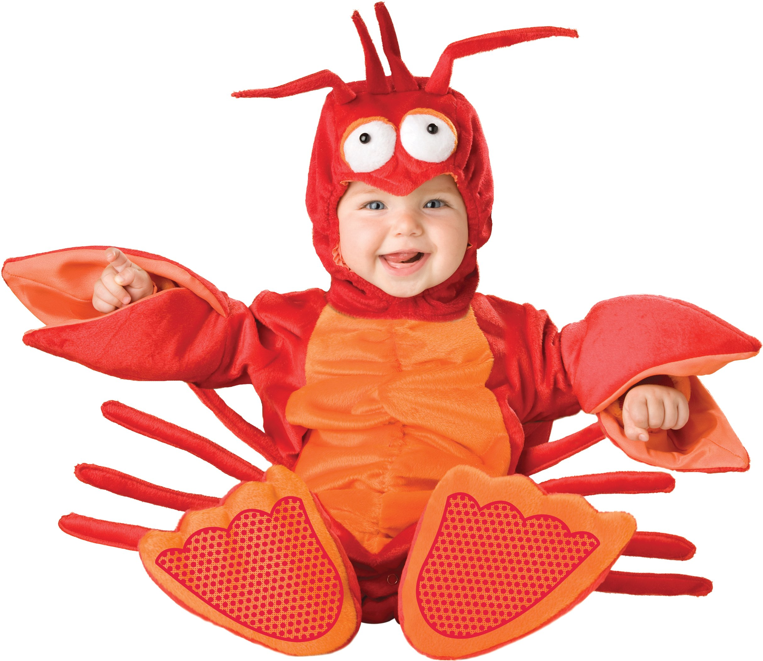 InCharacter Costumes Baby's Lil' Lobster Costume, Red/Orange, Small (6-12 Months)