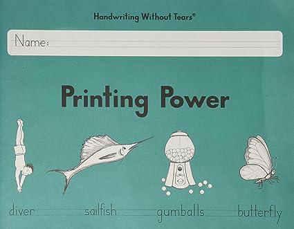 Amazon.com : Handwriting Without Tears Printing Power Grade 2 (2013 ...