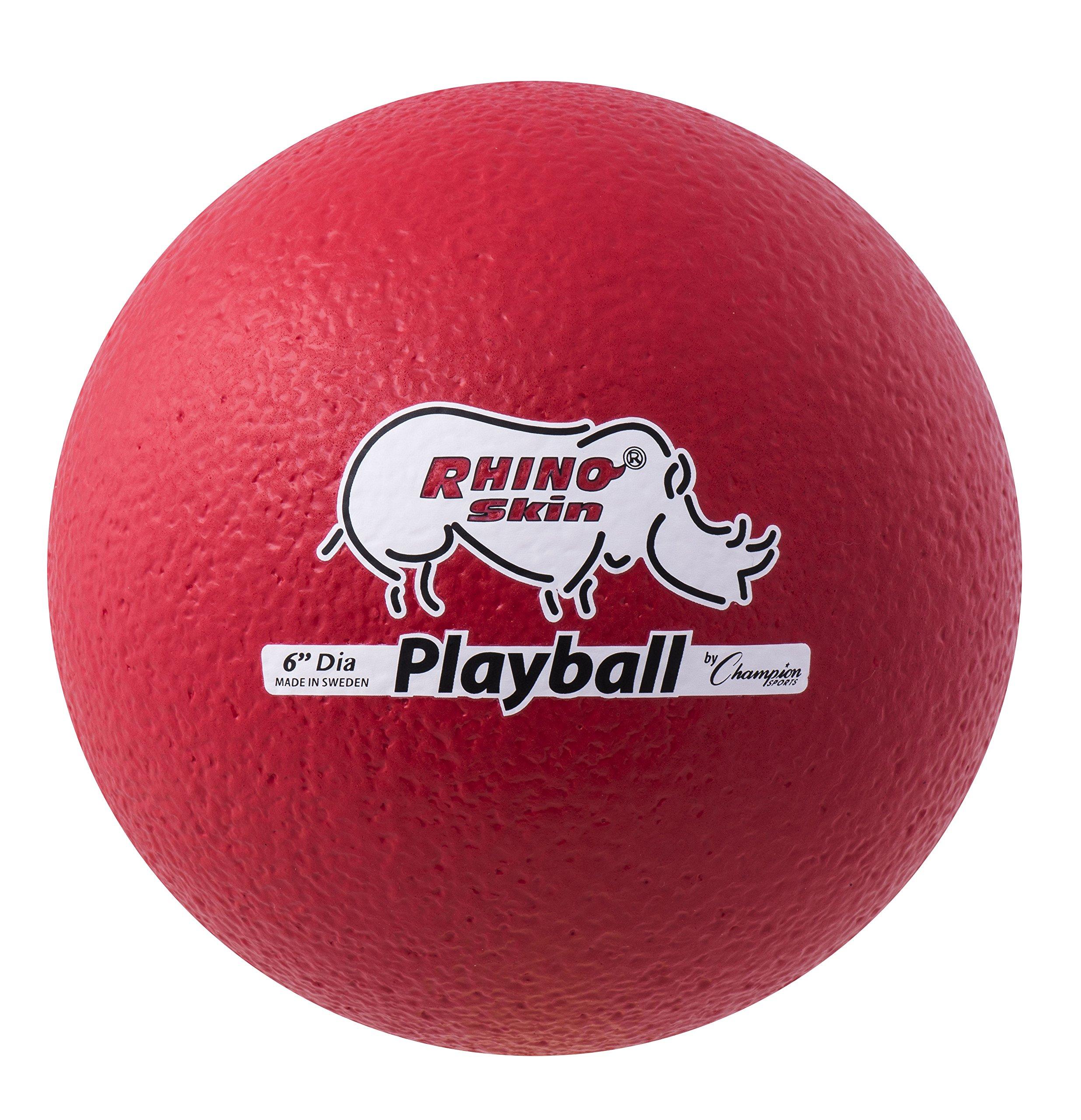 Champion Sports Playball Rhino Skin Ball by Champion Sports