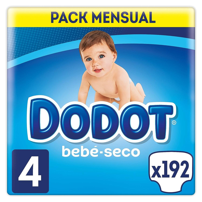 Pa/ñales para beb/é con canales de aire Dodot Beb/é-Seco 6-10 kg Talla 3 - 210 Pa/ñales 5-10 kg