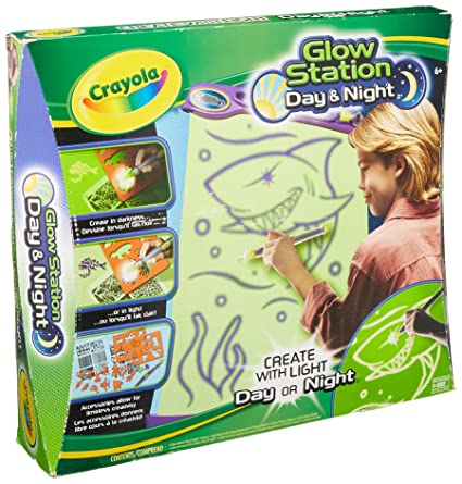 crayola glow station day and night amazon in home kitchen