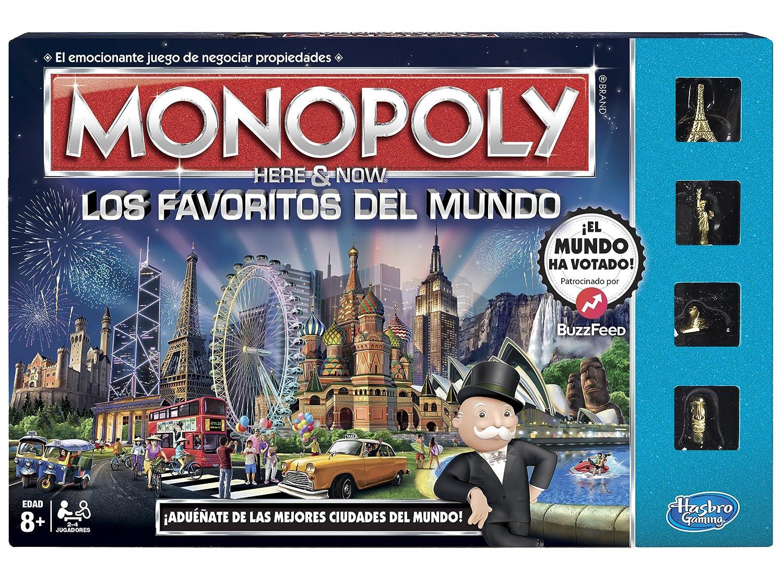 Monopoly Favoritos Del Mundo Version En Espanol Amazon Com Mx