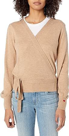 Dear Drew by Drew Barrymore Women's Weekend Cashmere Wrap Top