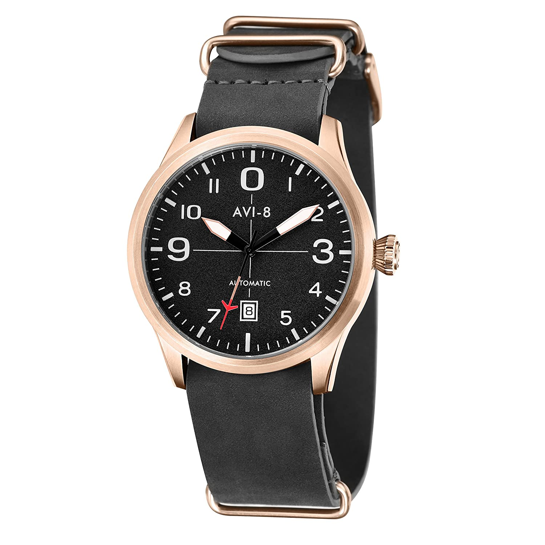 AVI-8 Herren- Armbanduhr Analog Automatik