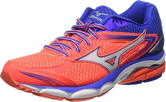 Mizuno J1GD160902, Zapatillas de Running Mujer, Pink (Fiery Coral ...