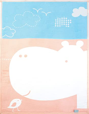 90x120 cm sei Design Babydecke Kuscheldecke für Babybett /& Kinderwagen