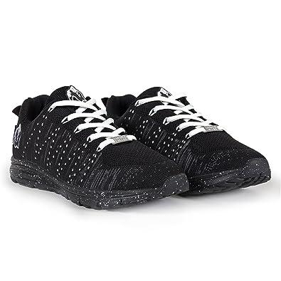 Gorilla Wear Zapatos Brooklyn Knitted Sneakers (Neon Mix Talla 37) JVlBn3n