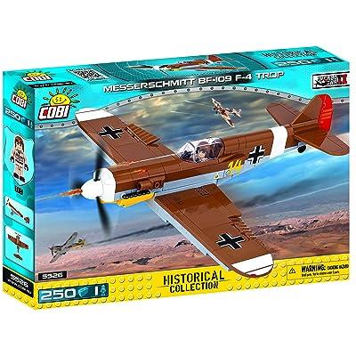 COBI Historical Collection Messerschmitt Bf 109 F-4 Trop Plane: Toys & Games