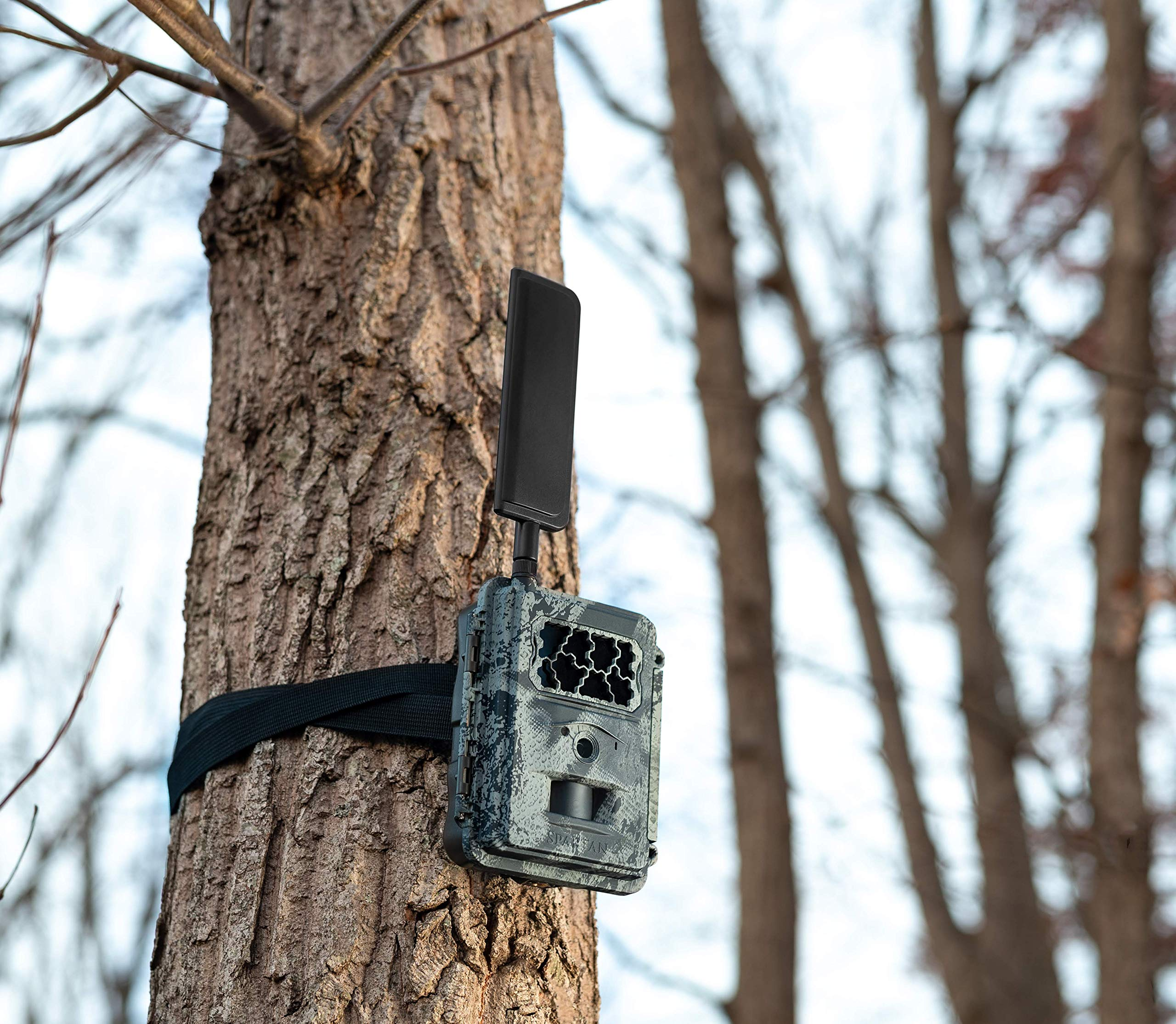 Spartan 4G LTE GoCam Wireless Trail Camera with Mount, AT&T Blackout (Verizon Also Available) by SPARTAN (Image #5)