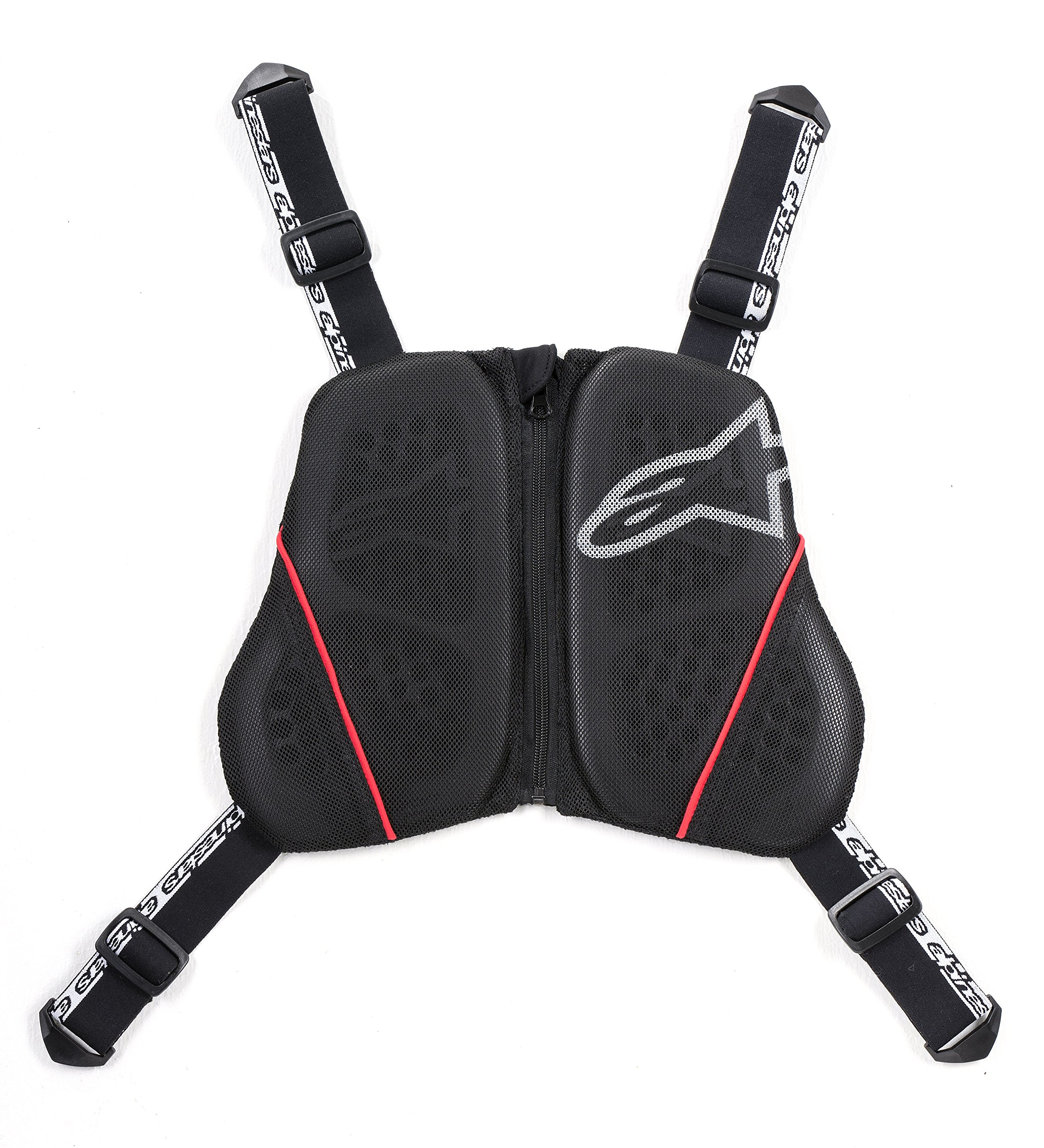 Alpinestars Nucleon KR-C Chest Harness (BLACK/WHITE/RED)