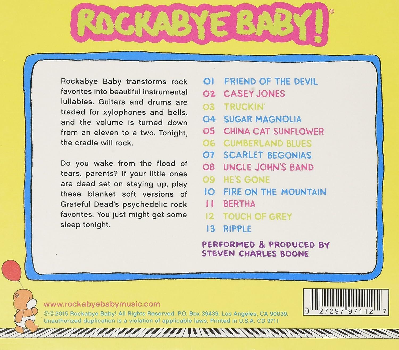 Rockabye Baby Grateful Dead Lullaby Renditions Amazon Music