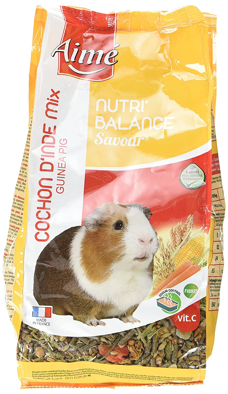 Aime Nourriture Nutri'Balance Savour Mix Octodon 900 G pour Petits Animaux - Lot de 4 Agrobiothers 100210