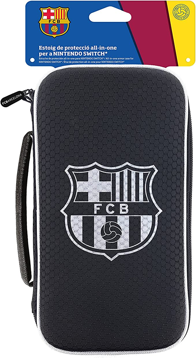 Subsonic FC Barcelona - Estuche All In One (Nintendo Switch): Amazon.es: Videojuegos