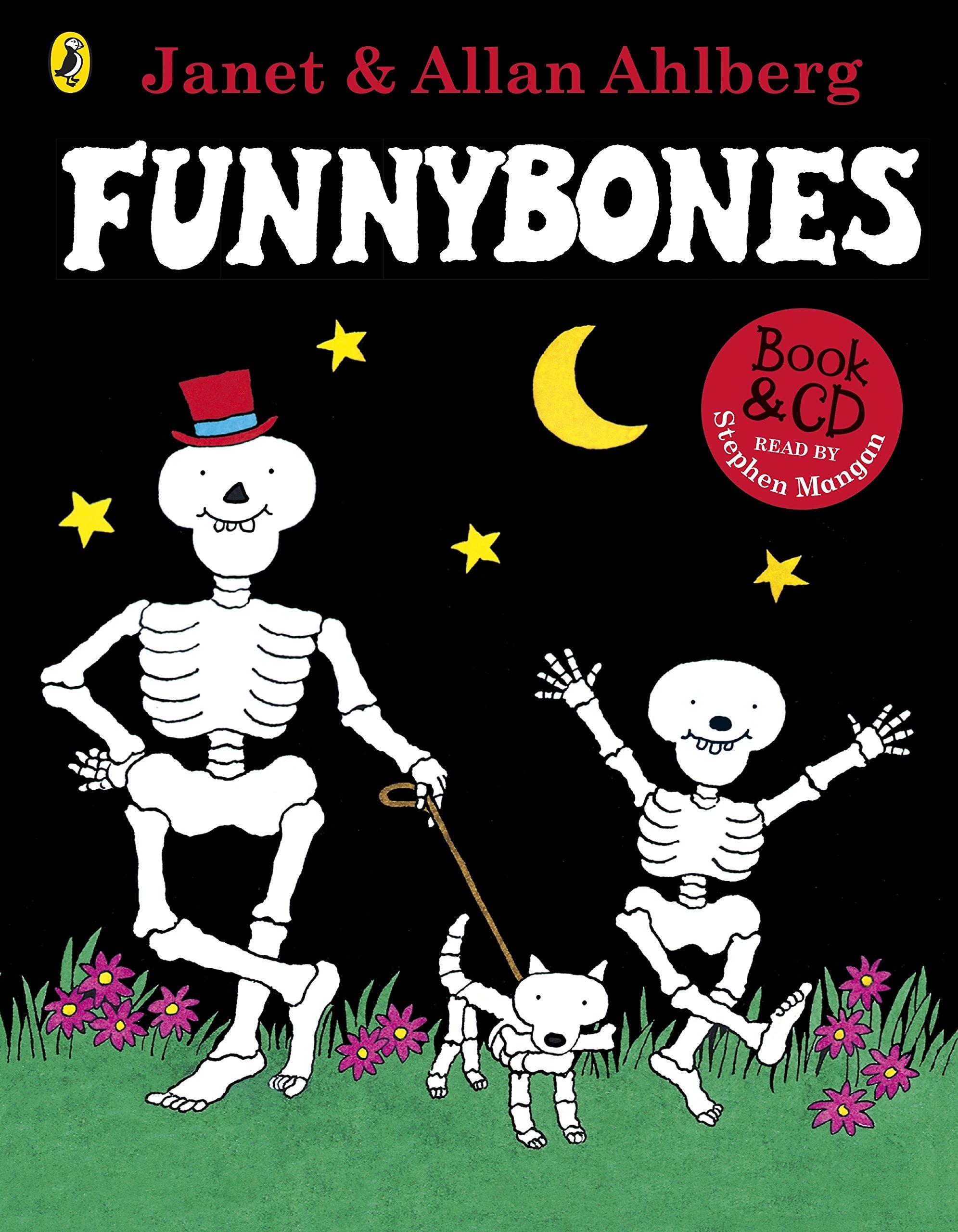 Funnybones: Book & CD : Ahlberg, Allan, Ahlberg, Janet, Ahlberg, Janet:  Amazon.co.uk: Books