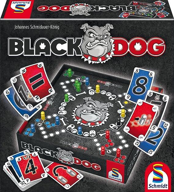 Schmidt Spiele Black Dog Niños y Adultos Estrategia - Juego de Tablero (Estrategia, Niños y Adultos, 30 min, Niño/niña, 8 año(s), Alemán): Amazon.es: Juguetes y juegos