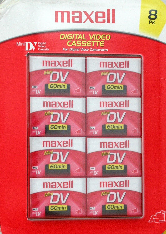 Maxell MiniDV 60 8-pack LYSB000IM6LF8-ELECTRNCS