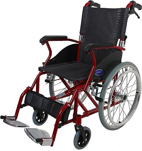 CYMAM EPSPL46 Silla Ruedas Aluminio: Amazon.es: Salud y cuidado ...
