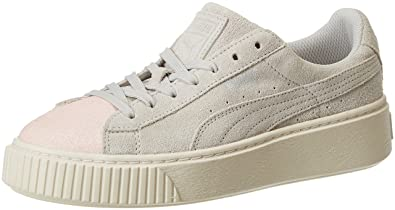 sports shoes 64073 6b0eb Puma Suede Platform Glam Jr, Sneakers Basses Mixte Enfant