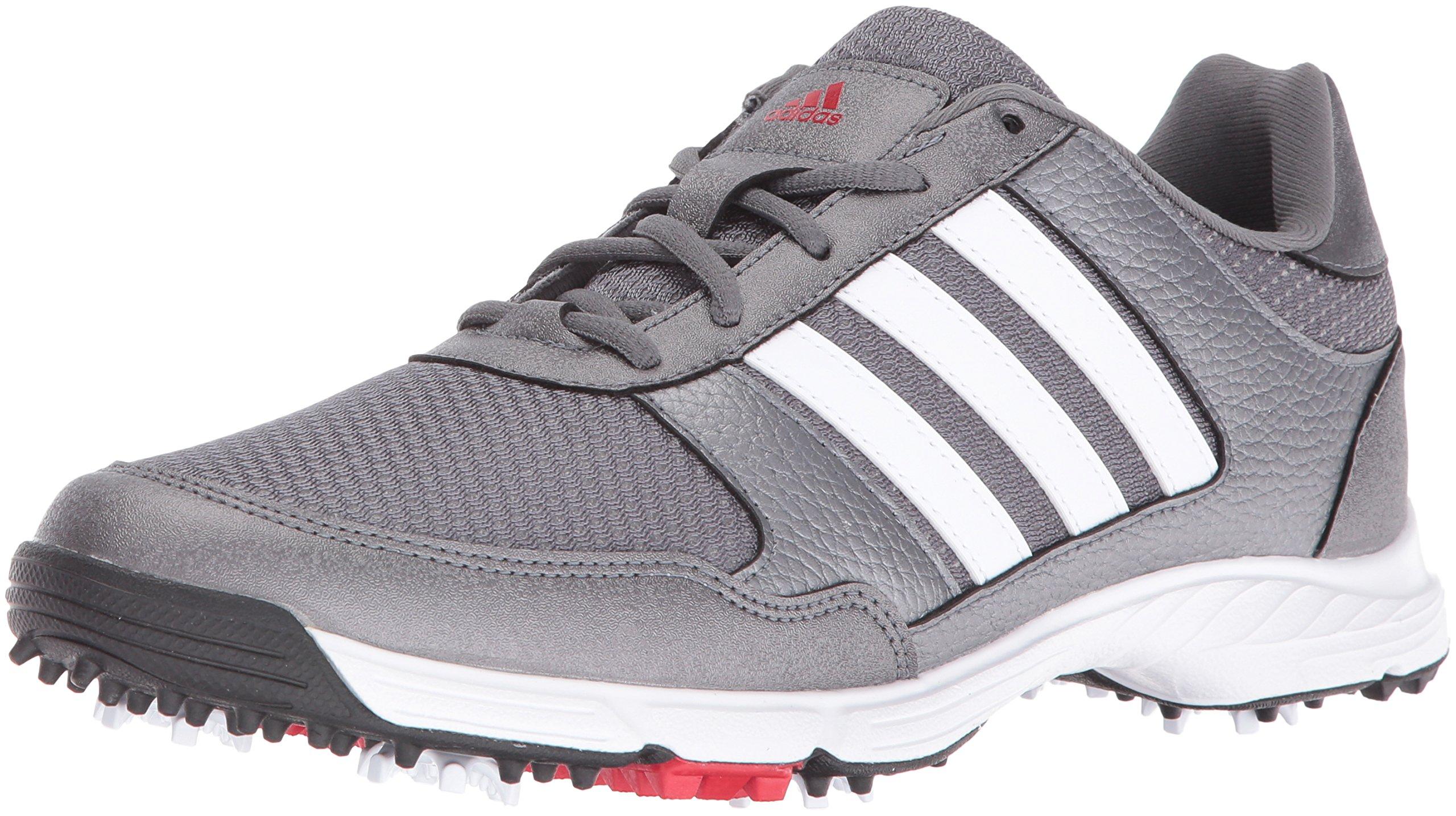 adidas Men's Tech Response Golf Shoe, Iron Metallic/White, 11 M US by adidas