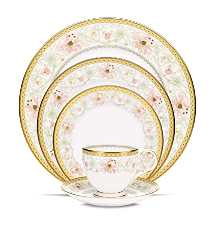 Buy noritake blooming splendor 5 piece place setting online at low noritake blooming splendor 5 piece place setting fandeluxe Image collections